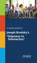Pdf A Study Guide for Joseph Brodsky's