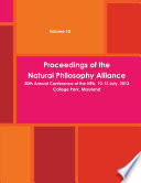 20th Natural Philosophy Alliance Proceedings