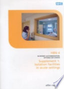 In-Patient Accommodation : Options for Choice. Supplement 1 Pdf/ePub eBook