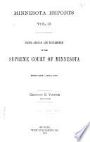 Minnesota Reports