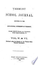 Vermont School Journal