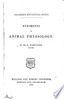 Rudiments of Animal Physiology
