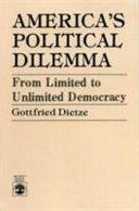 America s Political Dilemma