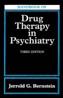 Handbook of Drug Therapy in Psychiatry Book