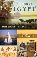 Pdf A History of Egypt