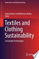 Textiles and Clothing Sustainability Book