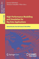 High Performance Modelling and Simulation for Big Data Applications