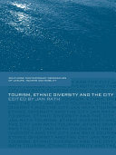 Tourism  Ethnic Diversity and the City