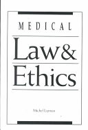 Medical Law   Ethics Book
