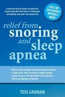 Relief from Snoring and Sleep Apnea