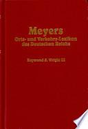 Meyers Orts- und Verkehrs-Lexikon des Deutschen Reichs