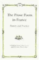 The Prose Poem in France