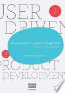 User Driven Product Development Book