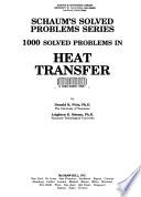 1000 Solved Problems in Heat Transfer