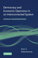 Democracy and Economic Openness in an Interconnected System