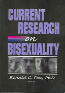 Current Research on Bisexuality Book