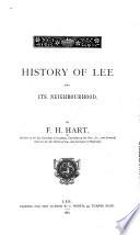 History of Lee and Its Neighbourhood