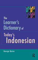 Pdf The Learner's Dictionary of Today's Indonesian