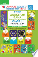 Oswaal CBSE Question Bank Class 11 English Core  Reduced Syllabus   For 2021 Exam