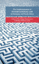 The implementation of international law in Germany and South Africa