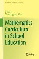 Pdf Mathematics Curriculum in School Education