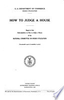 How to Judge a House Book