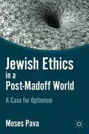 Jewish Ethics in a Post Madoff World