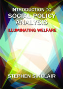 Introduction to social policy analysis
