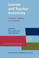 Learner and Teacher Autonomy