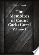The Memoires of Count Carlo Gozzi