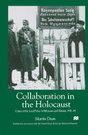 Pdf Collaboration in the Holocaust Telecharger