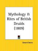 Mythology Rites Of British Druids 1809