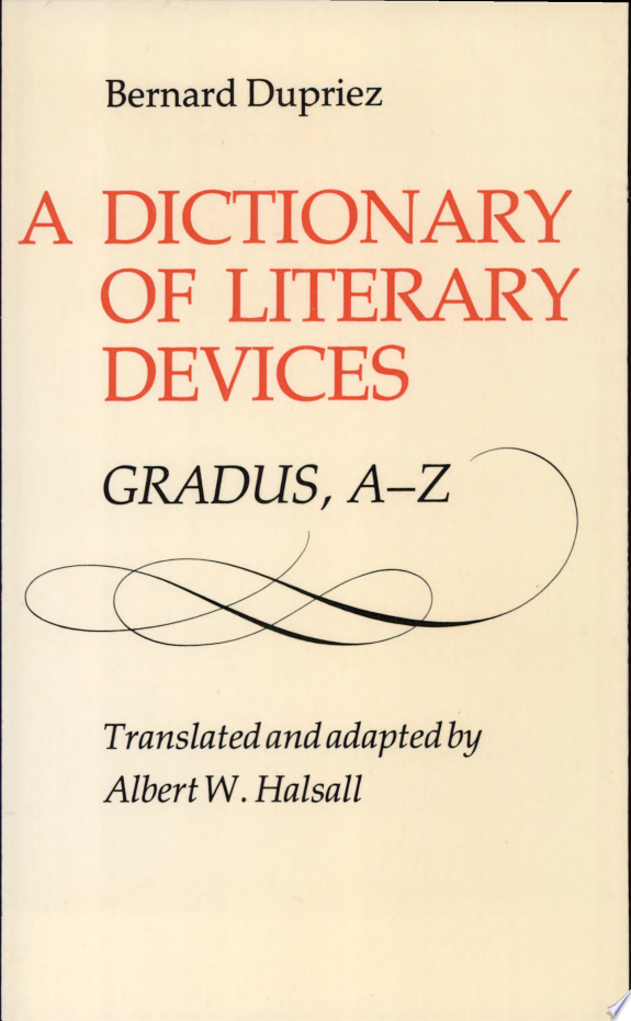 A+Dictionary+of+Literary+Devices