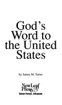 God S Word To The United States