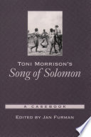 Toni Morrison s Song of Solomon Book