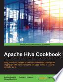 Apache Hive Cookbook