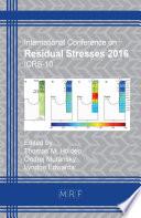 Residual Stresses 2016