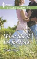 What She'd Do for Love Pdf/ePub eBook