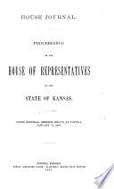 House Journal of the Legislative Assembly of the State of Kansas