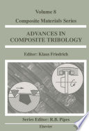 Advances in Composite Tribology Book