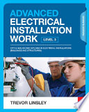 Advanced Electrical Installation Work  7th ed Book