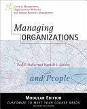 Managing Organizations and People  Modular Version