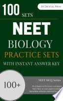 Biology Practice Sets Based On Previous Papers For Neet Exam Pdf Format