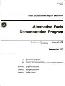 Alternative Fuels Demonstration Program Book