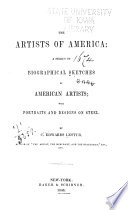 The Artists of America  a Series of Biographical Sketches of American Artists Book PDF