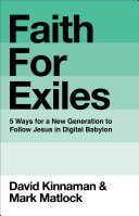 Faith for Exiles Pdf
