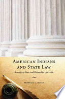 American Indians and State Law