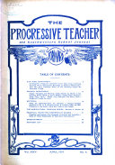 The Progressive Teacher And Southwestern School Journal