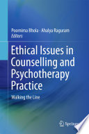 Ethical Issues In Counselling And Psychotherapy Practice PDF