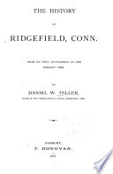 The History of Ridgefield, Conn